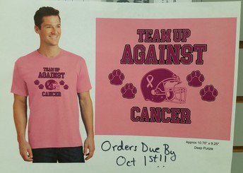 Pink Out T-Shirt Orders