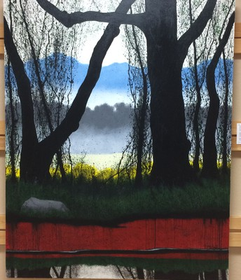 Nottely River Series #5 by Al Garnto