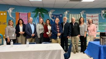 Honored Guests for School Board Appreciation