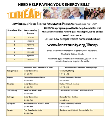 LIHEAP Utility Assistance