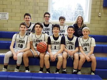 2019 7th Grade MS Basketball