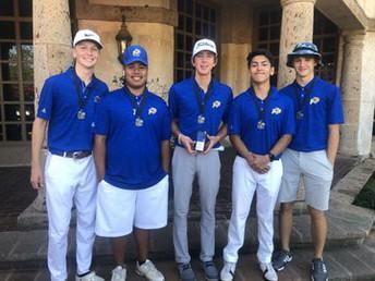 image of boys golf team