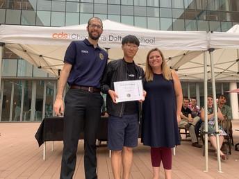 Ryan Park - Communication Award Winner