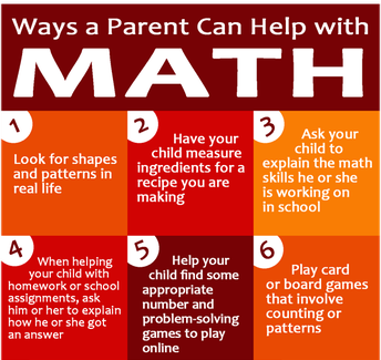 Ways a Parent Can Help with Math