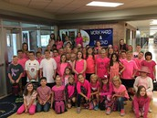 Class Color Day!  4th Grade - Pink!