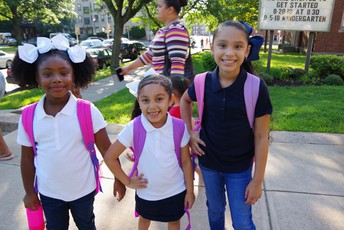 Lawrence school students