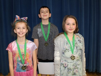Spelling Bee Winners Grade 3