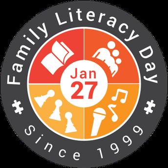 FAMILY LITERACY DAY - JANUARY 27