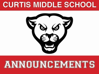 Daily Announcements on Curtis Website