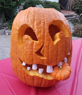 Funniest Pumpkin Winner