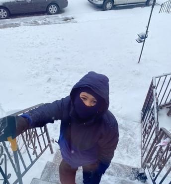 Aiden Stevenson getting ready to shovel 💪