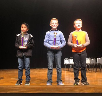 Peake's County Spelling Bee Winners