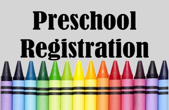 Pre-School Registration is Now Open