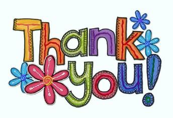A thank you for our community support!/¡Demostremos nuestro agradecimiento por el apoyo a nuestra comunidad!