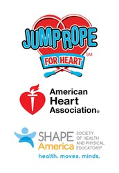 American Heart Jump Rope/Hoops for Heart