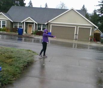 Rain Zombie!