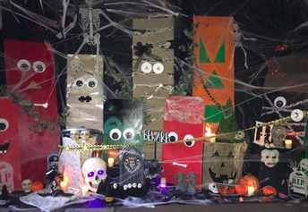 Thank you Jessica, owner of Foresight Event Consultants for your spooky masterpiece!