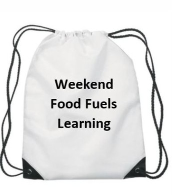 Weekend Food Program Available