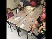 First grade fun w/ Miss Townsend!