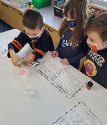 2L is testing which materials would make a good raincoat.