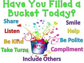 1st Grade Fills buckets!