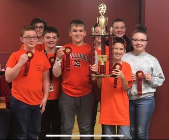 Quiz Bowl brings home a trophy!
