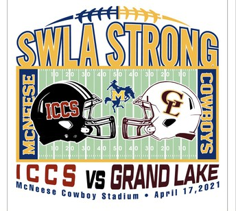 ICCS VS. GRAND LAKE SPRING FOOTBALL GAME FUN FOR ALL AGES