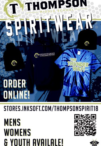 New Thompson Spiritwear