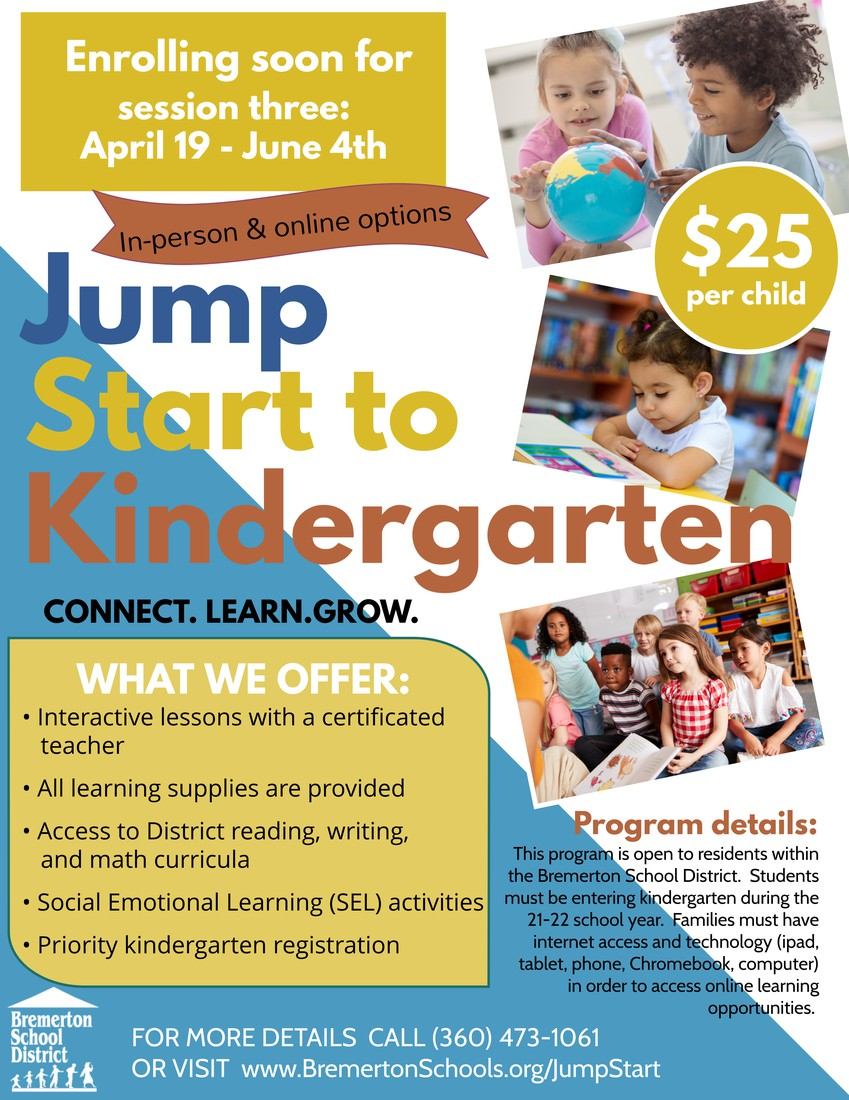 www.BremertonSchools.org/JumpStart