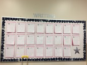 Writing focus in the classroom