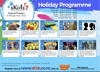 sKids Holiday Programme
