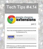Google Chrome Extensions - Part 2