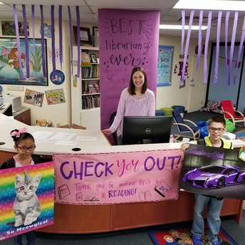 """National Library Week and """"Reading Happens Everywhere"""" Winners"""