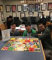 Brain break: Doing puzzles