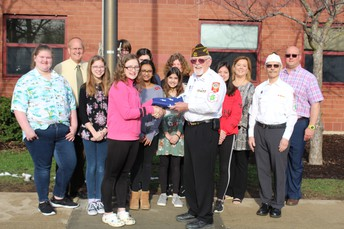 New U.S. Flags Donated by Crystal Lake VFW