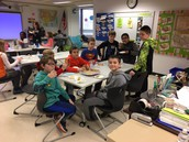 5th Grade- Enrollment Form Winners-Pizza Party!