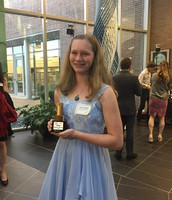 Student Recognized at STEMmys as STEM Student of the Year 7-12