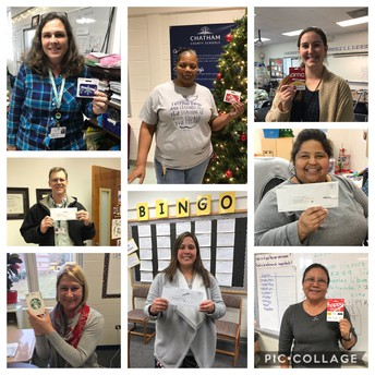 Big Winners from Holiday Cheer!
