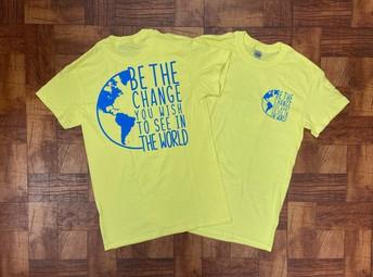 MS and Adult Yellow Spirit Shirt