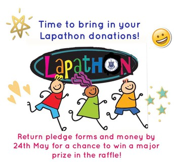 LAPATHON DONATIONS DUE NOW!