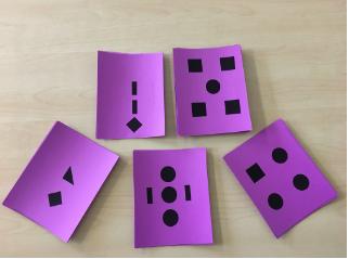 Graham Fletcher, Geometric Subitize Cards