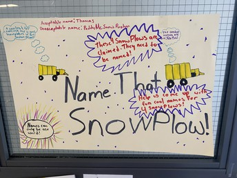 Name the new Snow Plows!