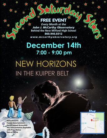 December Events at the Observatory