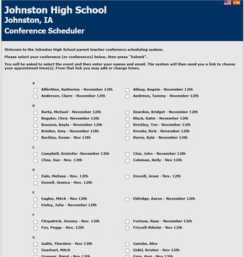 JHS Parent-Teacher Conferences