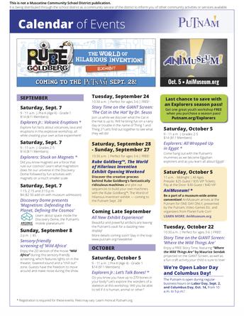 Putnam Museum Events