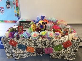 Dia de Los Muertos in 5th Grade!