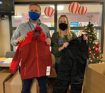Lewis & Clark Winter Gear Donation