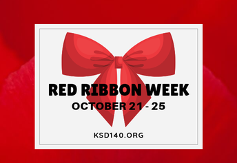 Red Ribbon Week:  October 21st - 25th