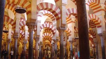 La Mezquita de Córdoba.