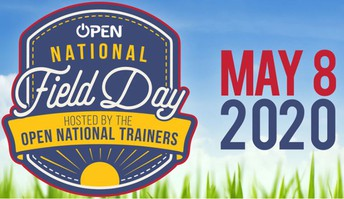 OPEN National Field Day May 8th